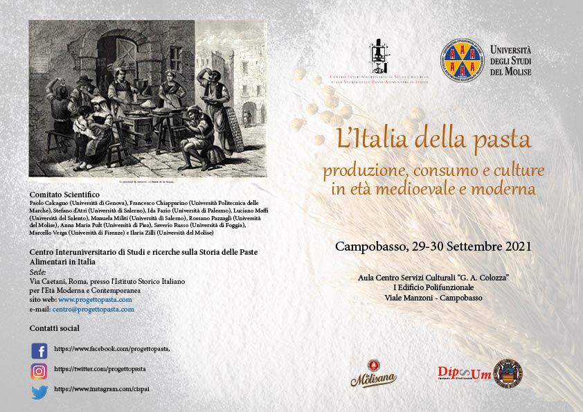 Convegno Campobasso 29-30 Settembre 2021